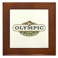 Olympic National Park Framed Tile