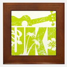 UKE Yellow-Green Framed Tile