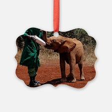 Baby Elephant2 Ornament