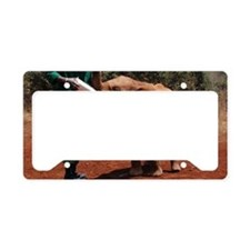 Baby Elephant2 License Plate Holder