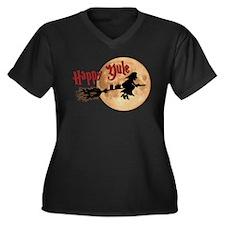 Happy Yule Plus Size T-Shirt