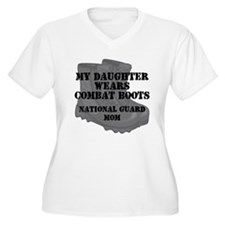 National Guard Mom Daughter Combat Boots Plus Size
