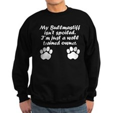Well Trained Bullmastiff Owner Jumper Sweater