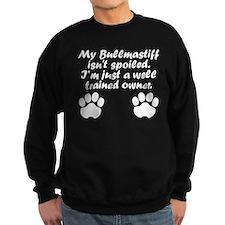 Well Trained Bullmastiff Owner Sweatshirt