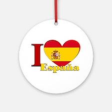 I love Espana - Spain Ornament (Round)