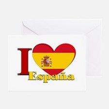 I love Espana - Spain Greeting Cards (Pk of 10)