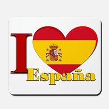 I Love Espana - Spain Mousepad