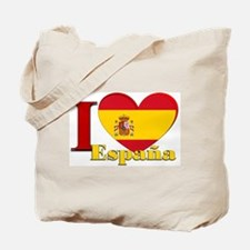 I Love Espana - Spain Tote Bag