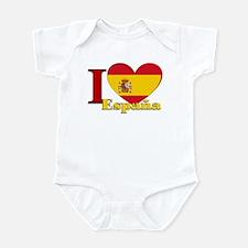 I love Espana - Spain Infant Bodysuit