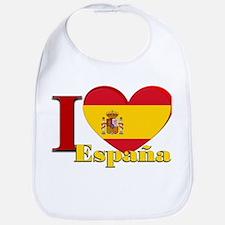 I love Espana - Spain Bib