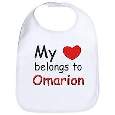 My heart belongs to omarion Bib