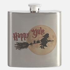 Happy Yule Flask