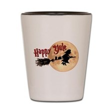 Happy Yule Shot Glass