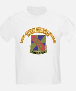 DUI - 159th Combat Aviation Brigade With Text T-Shirt