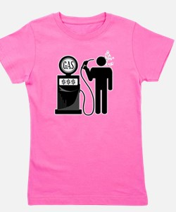 High Gas Prices Suicide Pump Girl's Tee