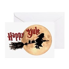 Happy Yule Greeting Cards