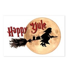 Happy Yule Postcards (Package of 8)