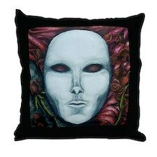 Unique Phantom of the opera mask Throw Pillow