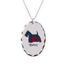 Terrier - Lindsay Necklace Oval Charm