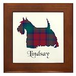 Terrier - Lindsay Framed Tile