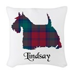 Terrier - Lindsay Woven Throw Pillow