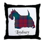 Terrier - Lindsay Throw Pillow