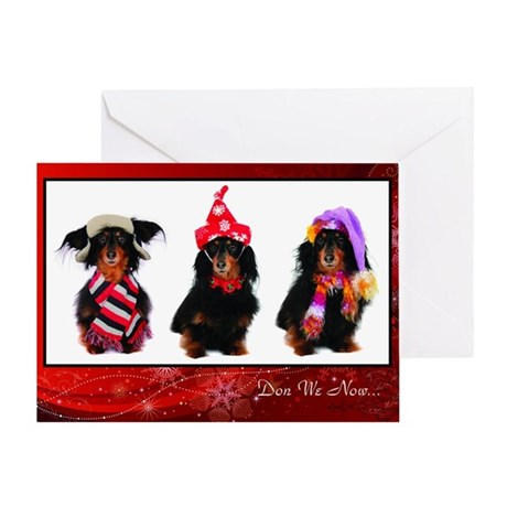 Don we Now Greeting Cards