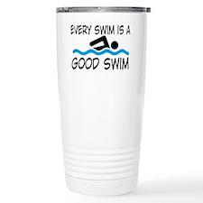 swimming Travel Mug