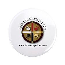 "Free Leonard Peltier 3.5"" Button"