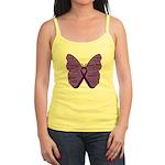 Butterfly GIST Cancer Ribbon Jr. Spaghetti Tank