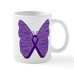 Butterfly GIST Cancer Ribbon Mug