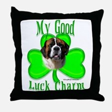Saint Irish 1 Throw Pillow