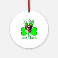 Saint Irish 1 Ornament (Round)