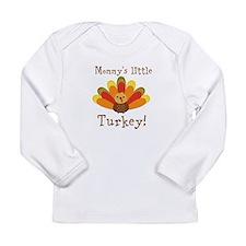Mommys little Turkey Long Sleeve T-Shirt