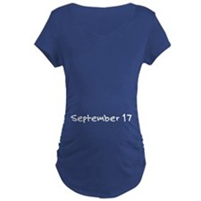 """""""September 17"""" printed on a T-Shirt"""