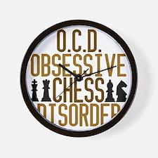 obsessivechessdisorder Wall Clock