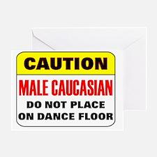 malecaucasian Greeting Card