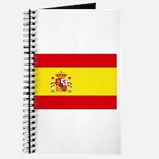 Spain National flag Journal