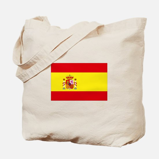 Spain National flag Tote Bag