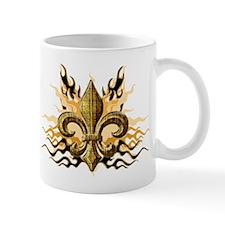 Gold Fleur De Lis Mugs