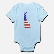 Delaware Flag Infant Bodysuit