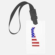 Delaware Flag Luggage Tag