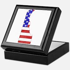 Delaware Flag Keepsake Box
