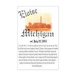 Eloise, Michigan mini poster