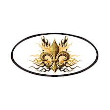 Gold Fleur De Lis Patches