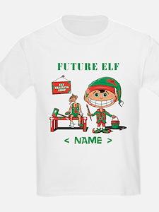 Personalize Future Christmas Elf T-Shirt