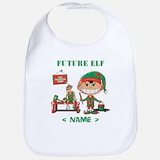 Personalize Future Christmas Elf Bib