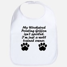 Well Trained Wirehaired Pointing Griffon Owner Bib