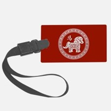 New Year of the Horse Luggage Tag