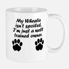 Well Trained Wheatie Owner Mugs